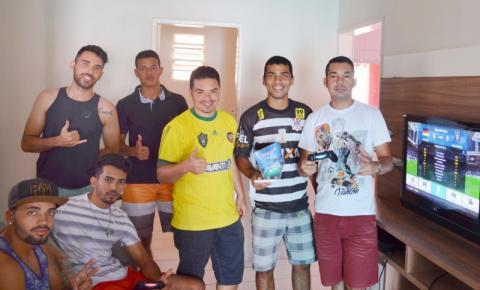 Grupo promove 1º CAMPEONATO REGIONAL DE FUTEBOL DE VIDEOGAME na cidade de Serrolândia.