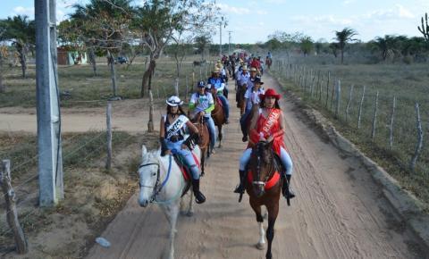 2ª Cavalgada do povoado de Mário Rodrigues, no município de Várzea da Roça