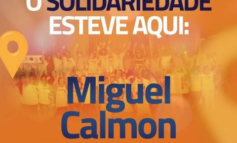 """Dia """"D"""" do Partido Solidariedade Mulher da cidade de Miguel Calmon/Ba."""
