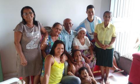 Quixabeirense comemora aniversário de 103 anos