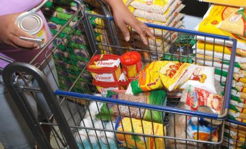 Produtos da cesta básica em SP sobem 0,26% em média na última semana