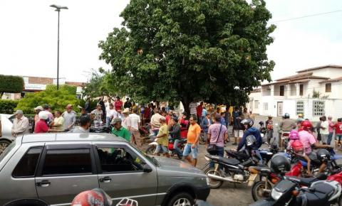 Lotérica em Várzea do Poço é assaltada, bandidos levaram uma mulher como refém