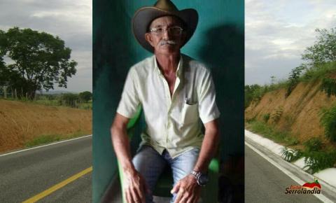 Vítima de acidente fatal na BA417 entre Serrolândia e Várzea do Poço é identificada.