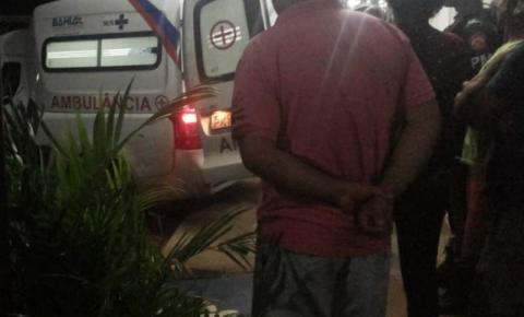 Homem sofre disparos de arma de fogo em Mairi
