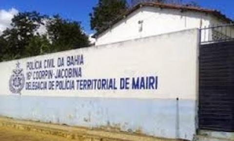 Fuga de presos na delegacia de Mairi