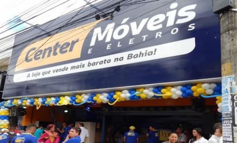 Center Móveis e Eletros chega à Feira de Santana inaugurando a sua 21ª loja!