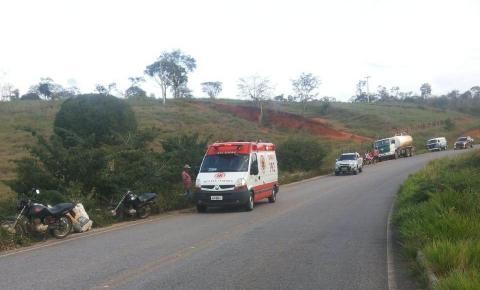 Jovem morre após sofrer acidente de moto na BA-130, perto de Mairi