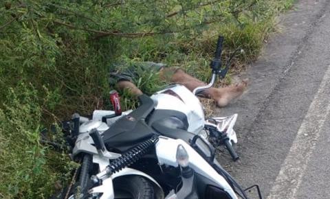 Grave acidente com vítima fatal em Mairi