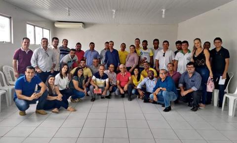 Consórcio Jacuípe se reúne com Secretários dos Municípios Consorciados