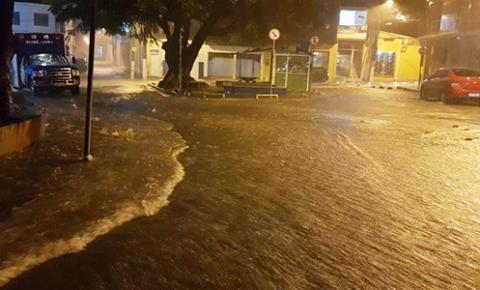 INEMA nas próximas 24 horas, por conta da chuva