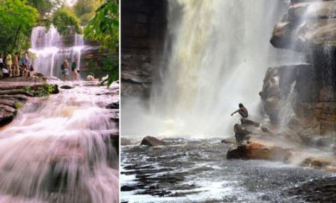 Chapada: Chuvas enchem rios e cachoeiras e provocam espetáculo da natureza
