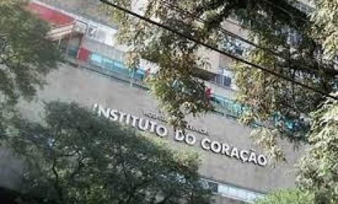 Incêndio atinge área externa do Instituto do Coração em São Paulo
