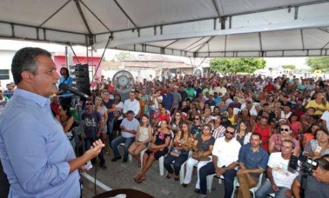 Rui entrega obras de infraestrutura que somam R$ 30 milhões em Itiúba e Cansanção