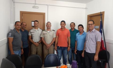 Em parceria, prefeitos de Serrolândia e Várzea do Poço buscam melhorias para segurança local