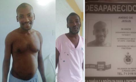 Família procura por homem desaparecido desde 2017 e foi visto na festa do Salamim em Serrolândia