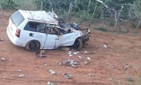 Morro do Chapéu: Animal solto na pista causa acidente com vítima fatal