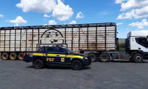PRF flagra transporte irregular de cargas no oeste da Bahia