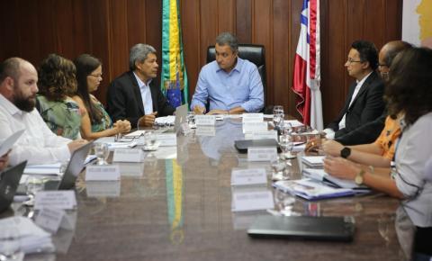 Reunião com núcleo dirigente da Rede Escolar do Estado alinha planejamento de ações para o período 2019-2022
