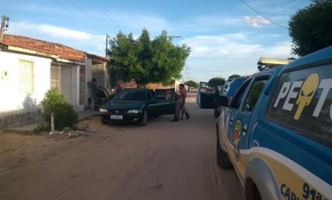 Polícia Militar prende traficante em Capim Grosso