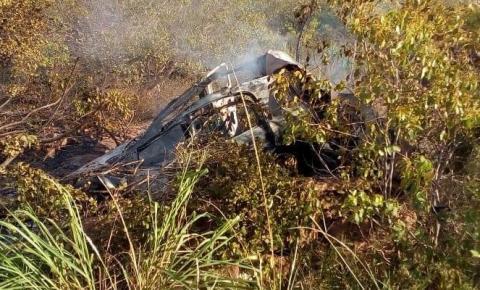 Capotamento com três vítimas fatais na BA 144 próximo a M. do Chapéu