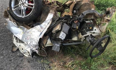 Três pessoas morrem em acidente entre carro, moto e ônibus na Bahia