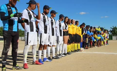 Campeonato Municipal de Quixabeira é iniciado com duelo de campeões