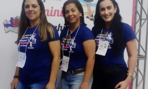 Agentes das Guardas Municipais de Gavião, Quixabeira e São José do Jacuípe participam do 2º Encontro de Guardas Municipais Femininas em Salvador (BA)