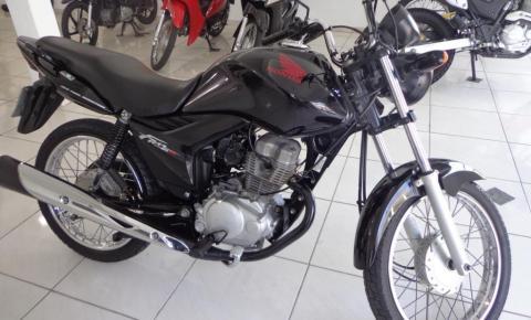 Moto é furtada no centro de Quixabeira