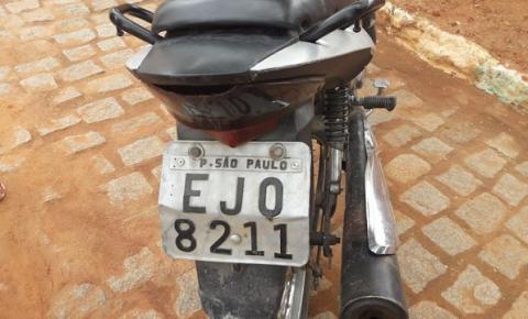 Homem é preso em flagrante por adulteração de veículo em Mairi