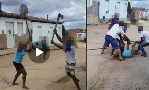 Briga de casal por pouco não termina em tragédia em Tapiranga