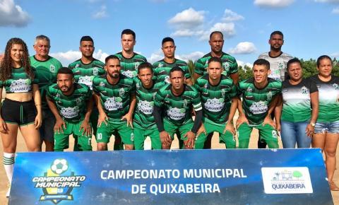 Quixadá e Uruçu empatam pelo Campeonato Municipal de Quixabeira