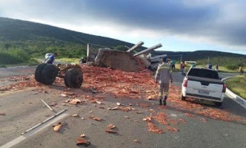 Acidente deixa uma vítima fatal em Cafarnaum