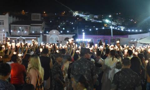 16ª Caminhada da Luz de Jacobina atrai milhares de católicos