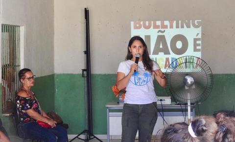 Assistência Social realiza campanha contra o bullying
