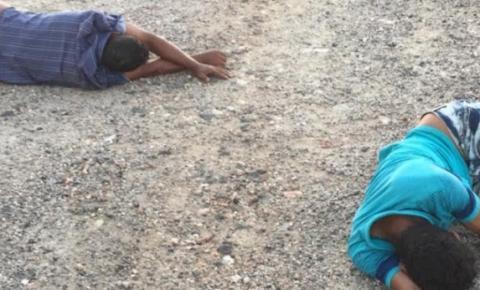 Dois feridos vítimas de acidente com moto entre Novo Paraíso e Junco de Jacobina