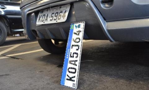 Contran acata liminar e determina suspensão da placa Mercosul no Brasil