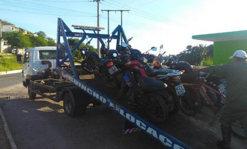 SMTT apreende veículos irregulares durante blitz em Jacobina