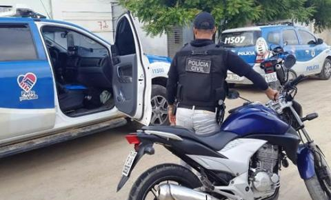 Polícia Civil recupera 15 motos com restrição de furto em Capim Grosso e Várzea da Roça