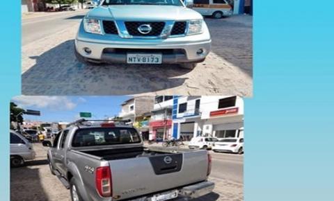 Capimgrossense tem carro roubado em Feira de Santana