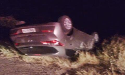 Acidente envolvendo três veículos próximo a Capim Ferro em Capim Grosso