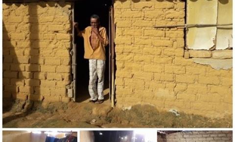 Homem vive em situação sub-humana no povoado de Alto do Capim em Quixabeira