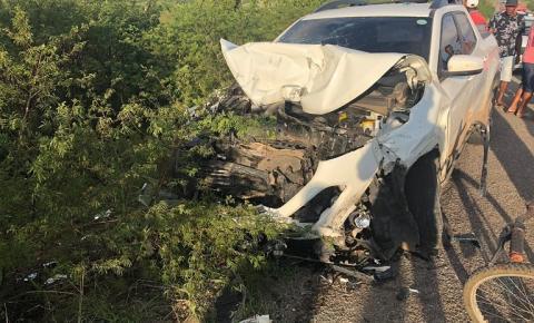 Família de Várzea do Poço se envolve em grave acidente com vítimas fatais na BR-324