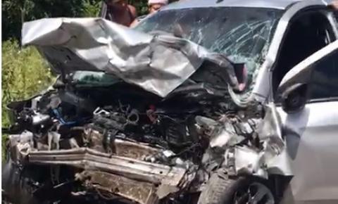 Grave acidente com vítima fatal próximo a Miguel Calmon