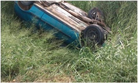 Motorista filma exato momento de seu próprio acidente na BR-116; veja vídeo