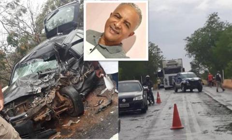 Batida entre viatura da Polícia Militar e um Gol, deixa advogado morto na Bahia
