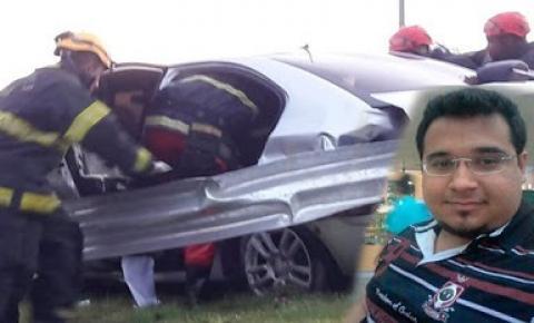 Filho do ex-prefeito de Mairi-BA morre em greve acidente de carro no estado do Pará