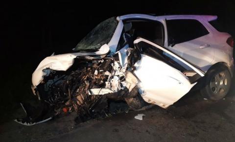 Batida frontal entre dois carros deixa 4 mortos e um ferido na BA; crianças estão entre vítimas