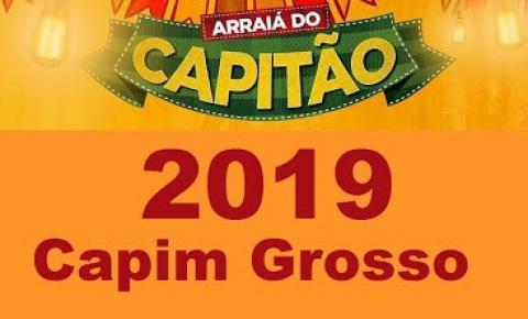EM COLETIVA PREFEITA ANUNCIA ATRAÇÕES DO ARRAIA DO CAPITÃO 2019 EM CAPIM GROSSO:CONFIRA