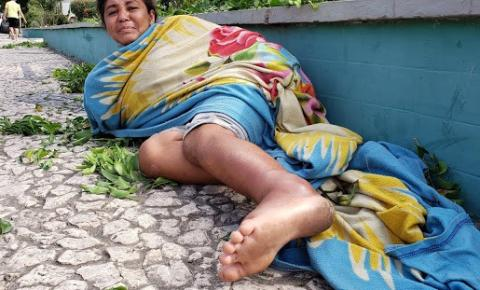 Quem pode ajudar esta nossa irmã do Paraná, que sofre em Jacobina?