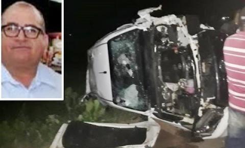 Empresário do ramo de combustíveis, irmão de ex-prefeito de Tucano morre em acidente na BR-116 em Euclides da Cunha